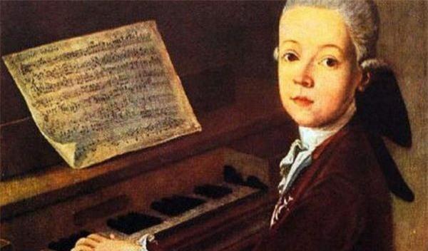 Mozart thiên tài âm nhạc. Ảnh: Internet.