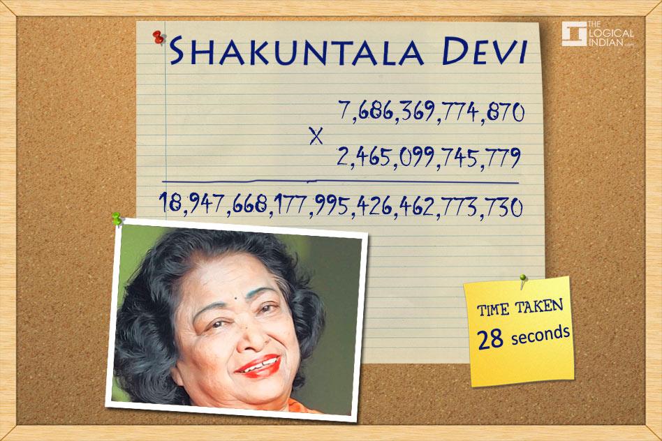 Devi là phù thủy toán học. Ảnh: Internet.