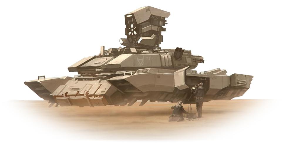 Nga có thể ứng dụng động cơ lượng tử làm xe tăng bay. Ảnh: X-true.info