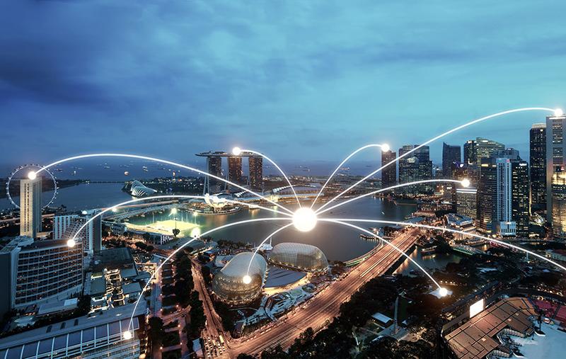 Singapore đặt mục tiêu trở thành quốc gia thông minh đầu tiên trên thế giới. Ảnh: Pgimgs