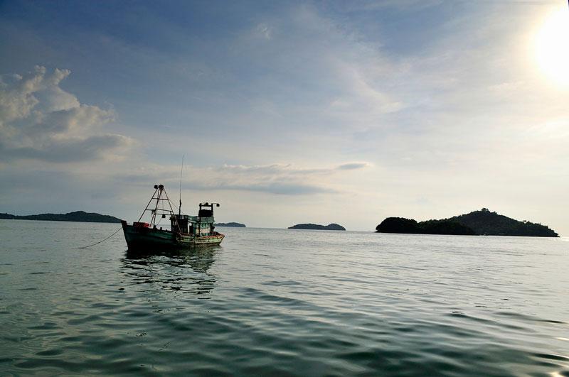 Do cướp biển từng hoành hành khu vực này vào khoảng cuối thế kỷ 17 và đầu thế kỷ 18 nên nó được gọi là quần đảo Hải Tặc. Ảnh: Diem Dang Dung.