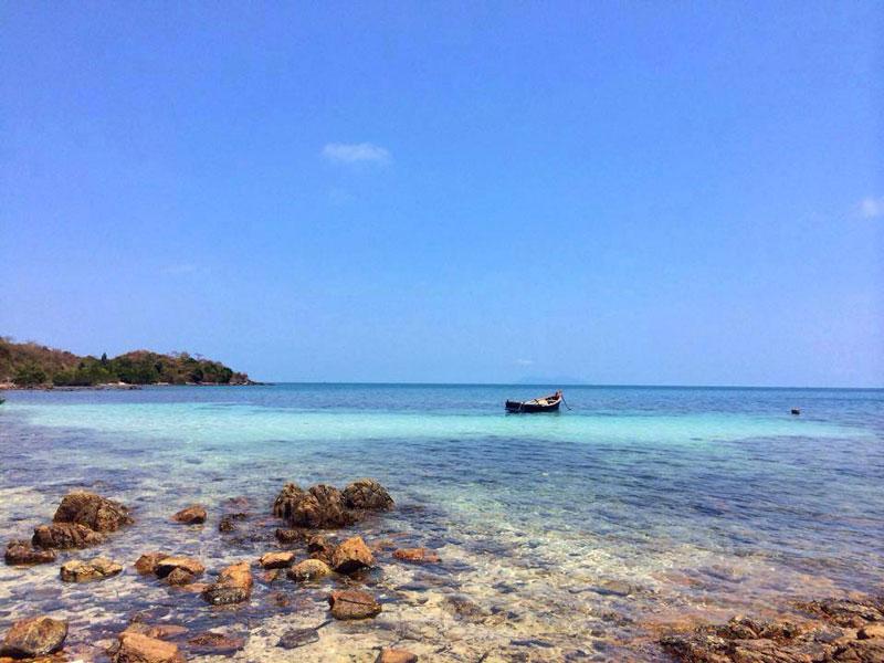 Trong quần đảo Hà Tiên, chỉ có 6 - 7 đảo là có con người sinh sống như hòn Đốc, hòn Đước, hòn Giang, hòn Ụ, hòn Đồi Mồi... Ảnh: Daohaitac.