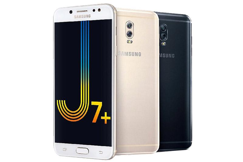 Samsung Galaxy J7 Plus sẽ lên kệ tại Việt Nam vào giữa tháng 10 này với 8,69 triệu đồng. Máy có 2 tuỳ chọn màu sắc gồm đen và vàng.