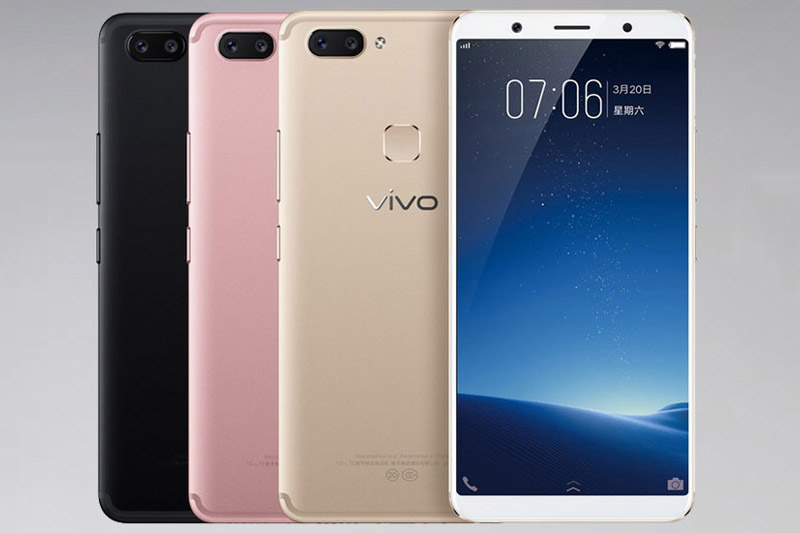 Vivo X20 Plus có 3 màu đen, vàng hồng và vàng. Giá bán của máy là 3.499 Nhân dân tệ (tương đương 11,83 triệu đồng).