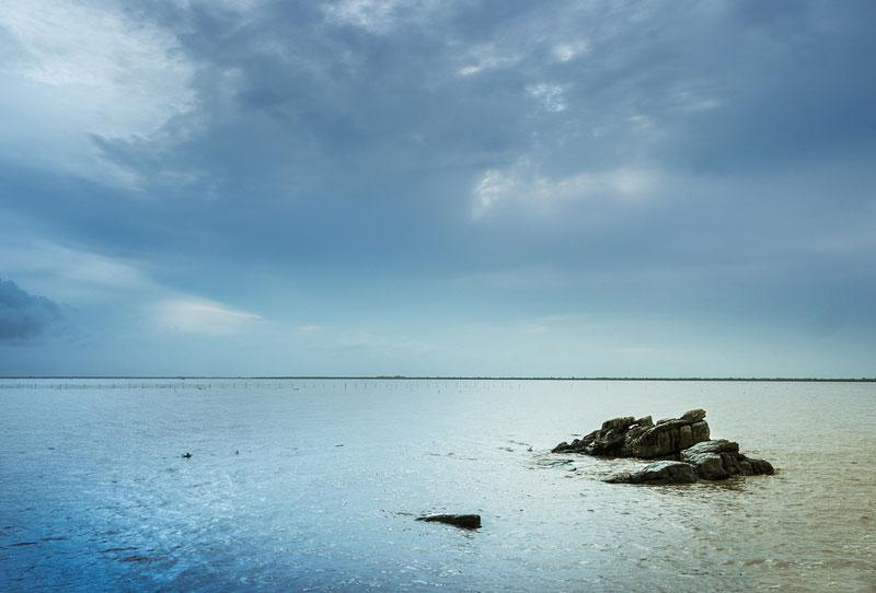Bãi biển Đồ Sơn thuộc địa phận quận Đồ Sơn, thành phố Hải Phòng. Ảnh: Nguyễn Minh Sơn.