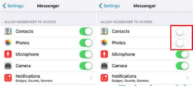 Hướng dẫn chỉnh sửa quyền truy cập và quản lý ứng dụng trên iOS