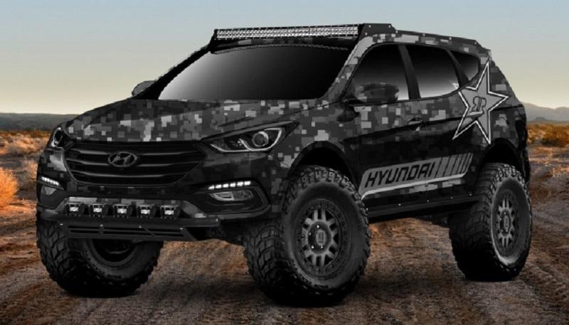 Extreme Off-roader Santa Fe Sport Concept của Huyndai cực