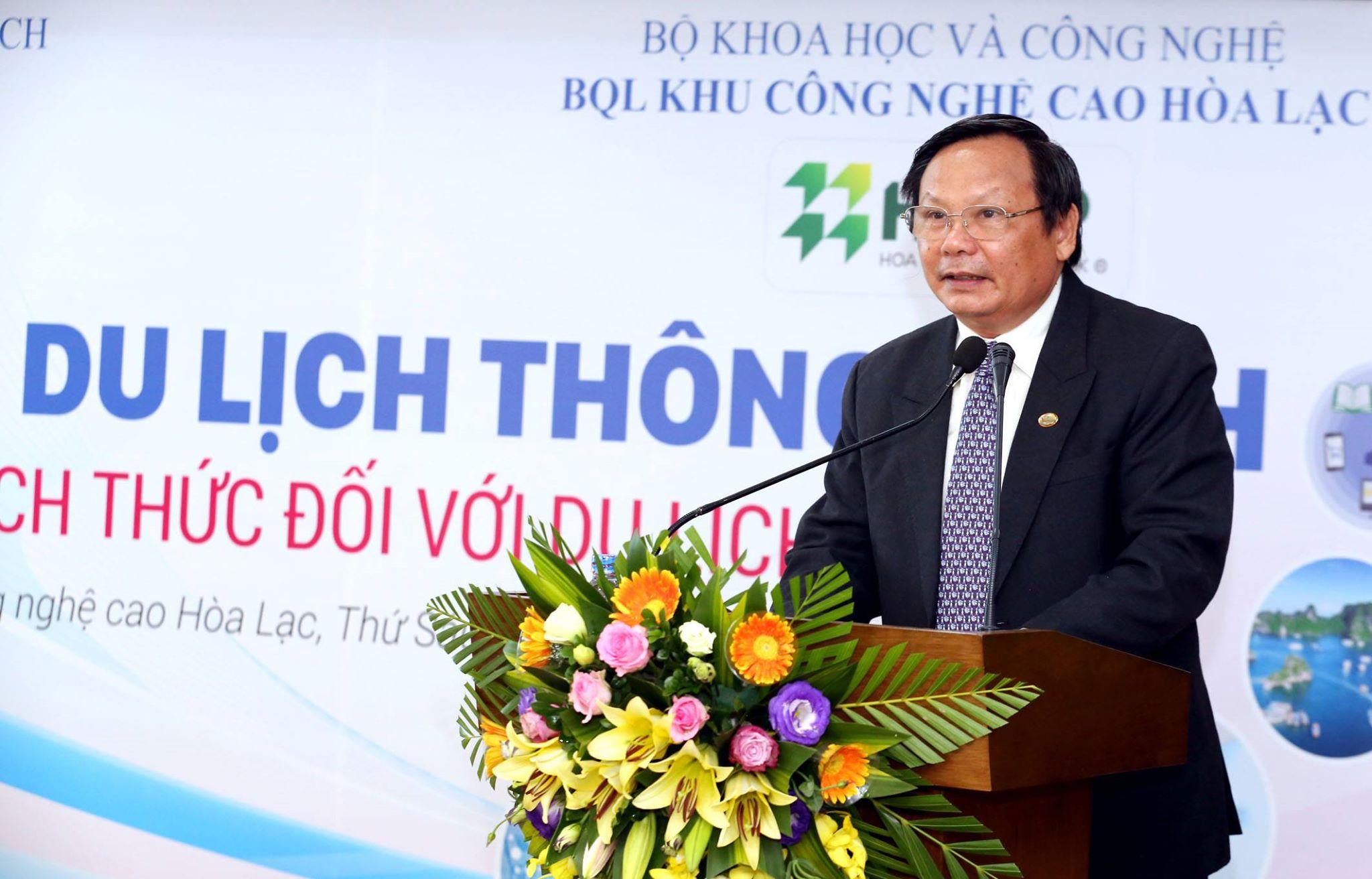 Nguyễn Văn Tuấn, Tổng cục trưởng Tổng cục Du lịch phát biểu tại hội thảo.