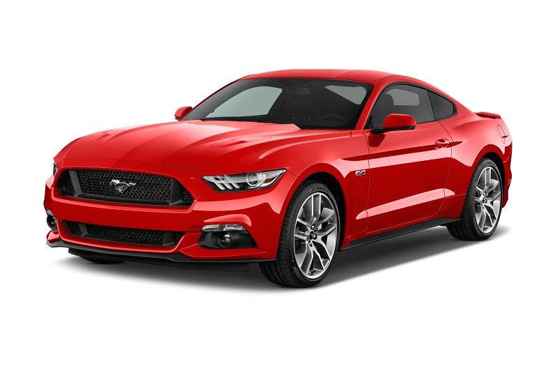 8. Ford Mustang GT 2017.