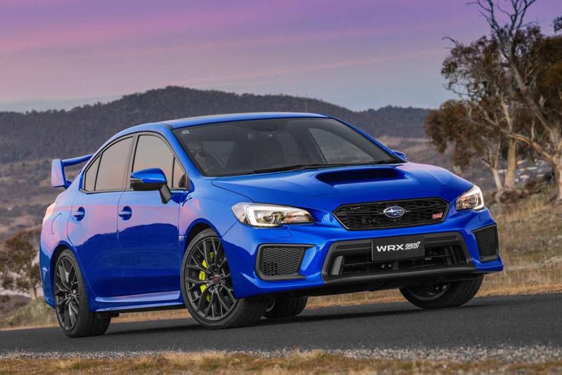 9. Subaru WRX STI 2018.