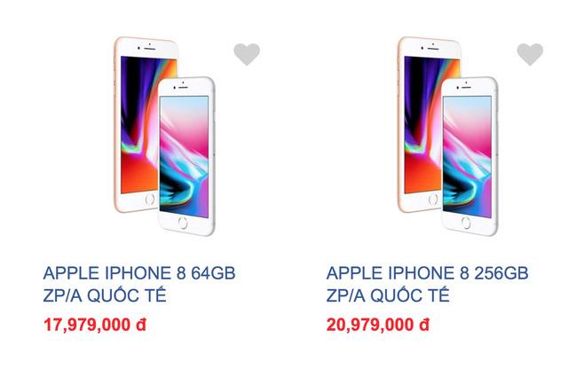 iPhone 8 giá đang giảm cực mạnh tại Việt Nam.