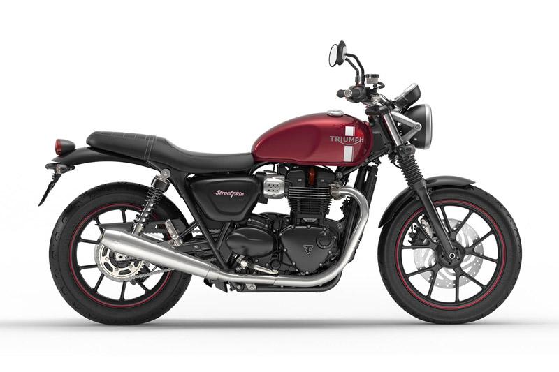 Chi tiết môtô hơn 300 triệu vừa ra mắt ở Việt Nam. Triumph Street Twin 2017 vừa được trình làng tại thị trường Việt Nam với giá bán 310 triệu đồng. Mẫu môtô này được trang bị động cơ SOHC 2 xi lanh với dung tích 900cc. (CHI TIẾT)