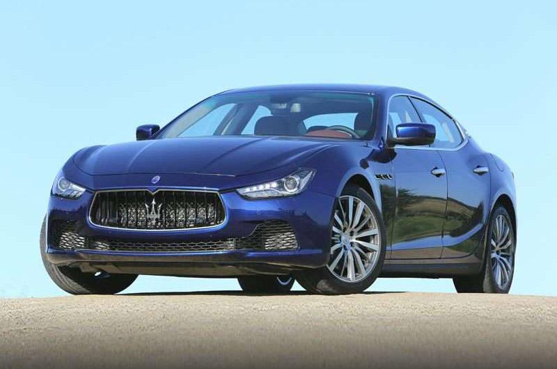 9. Maserati Ghibli (thời gian tăng tốc từ 0-100 km/h: 4,7 giây).