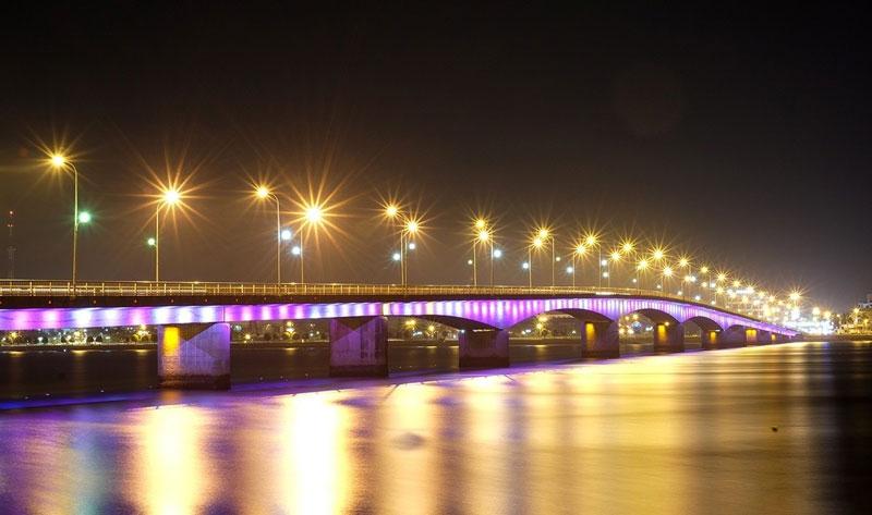 Sông còn có tên là Đại Uyên, được đổi thành sông Nhật Lệ khoảng năm 1069-1075. Ảnh: Bích Ngân.