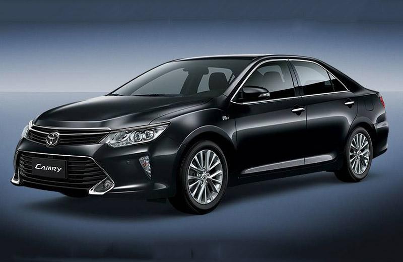 Toyota Việt Nam giới thiệu Camry 2017, giá từ 997 triệu đồng. Công ty Ôtô Toyota Việt Nam (TMV) trân trọng giới thiệu Camry 2017 với giá khởi điểm 997 triệu đồng. Mẫu sedan này sẽ có mặt tại toàn bộ hệ thống đại lý của Toyota trên toàn quốc kể từ ngày hôm nay (10/10). (CHI TIẾT)