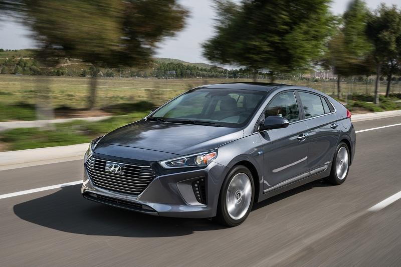 10. Hyundai Ioniq 2018.