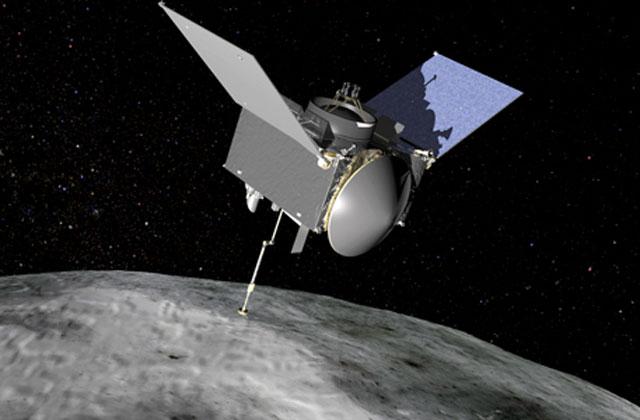 Tàu OSIRIS-Rex đang trên đường tới tiểu hành tinh Bennu. Ảnh: NJ.