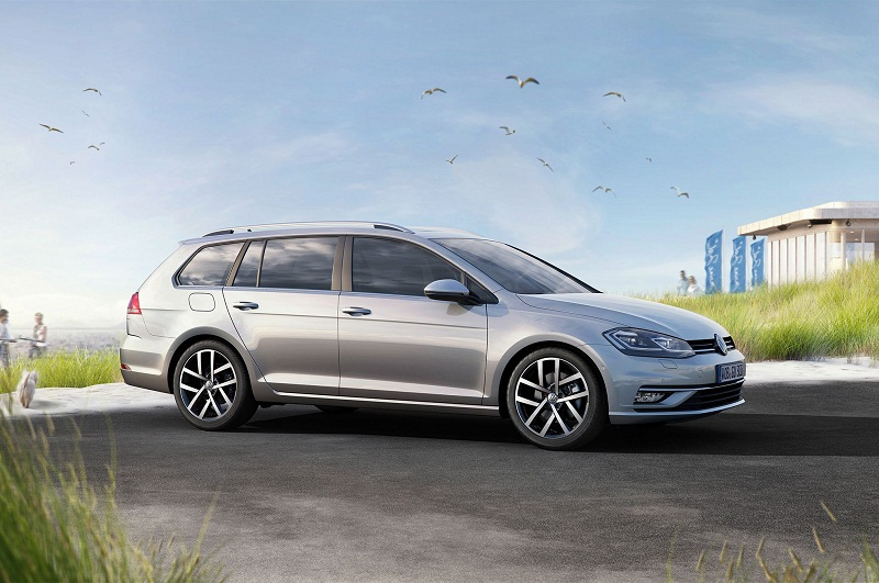 5. Volkswagen Golf SportWagen 2018.