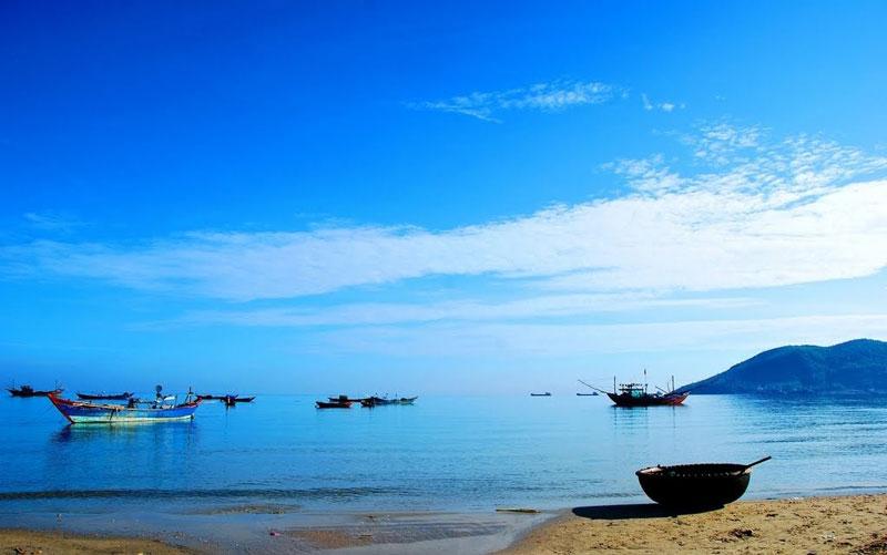 Biển Cảnh Dương thuộc địa phận thôn Cảnh Dương, xã Lộc Vĩnh, huyện Phú Lộc, tỉnh Thừa Thiên. Ảnh: Oneclicktogo.