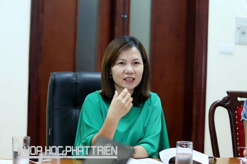 Bà Nguyễn Như Quỳnh - Phó Chánh thanh tra Bộ Khoa học và Công nghệ.