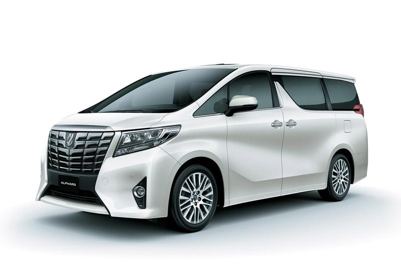 1. Toyota Alphard (doanh số: 1 chiếc).