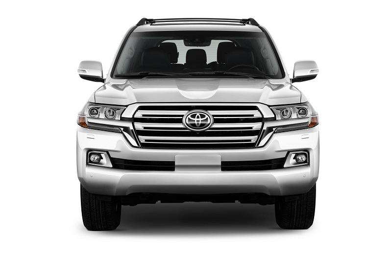 3. Toyota Land Cruiser (doanh số: 5 chiếc).