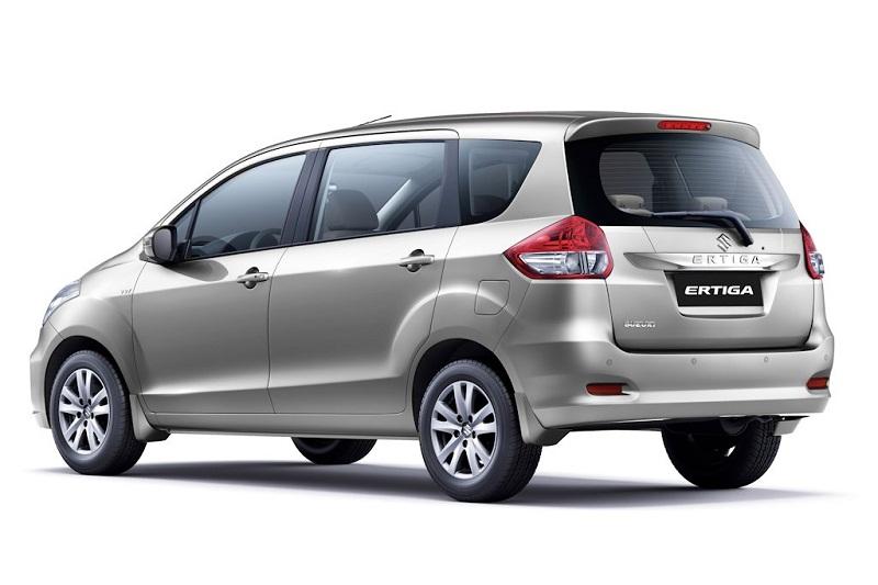 4. Suzuki Ertiga (doanh số: 6 chiếc).