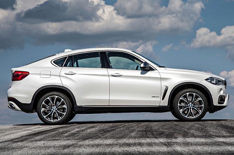 5. BMW X6 2017.