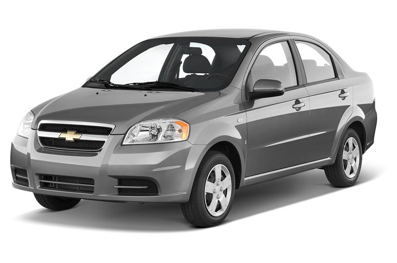 9. Chevrolet Aveo (doanh số: 22 chiếc ).