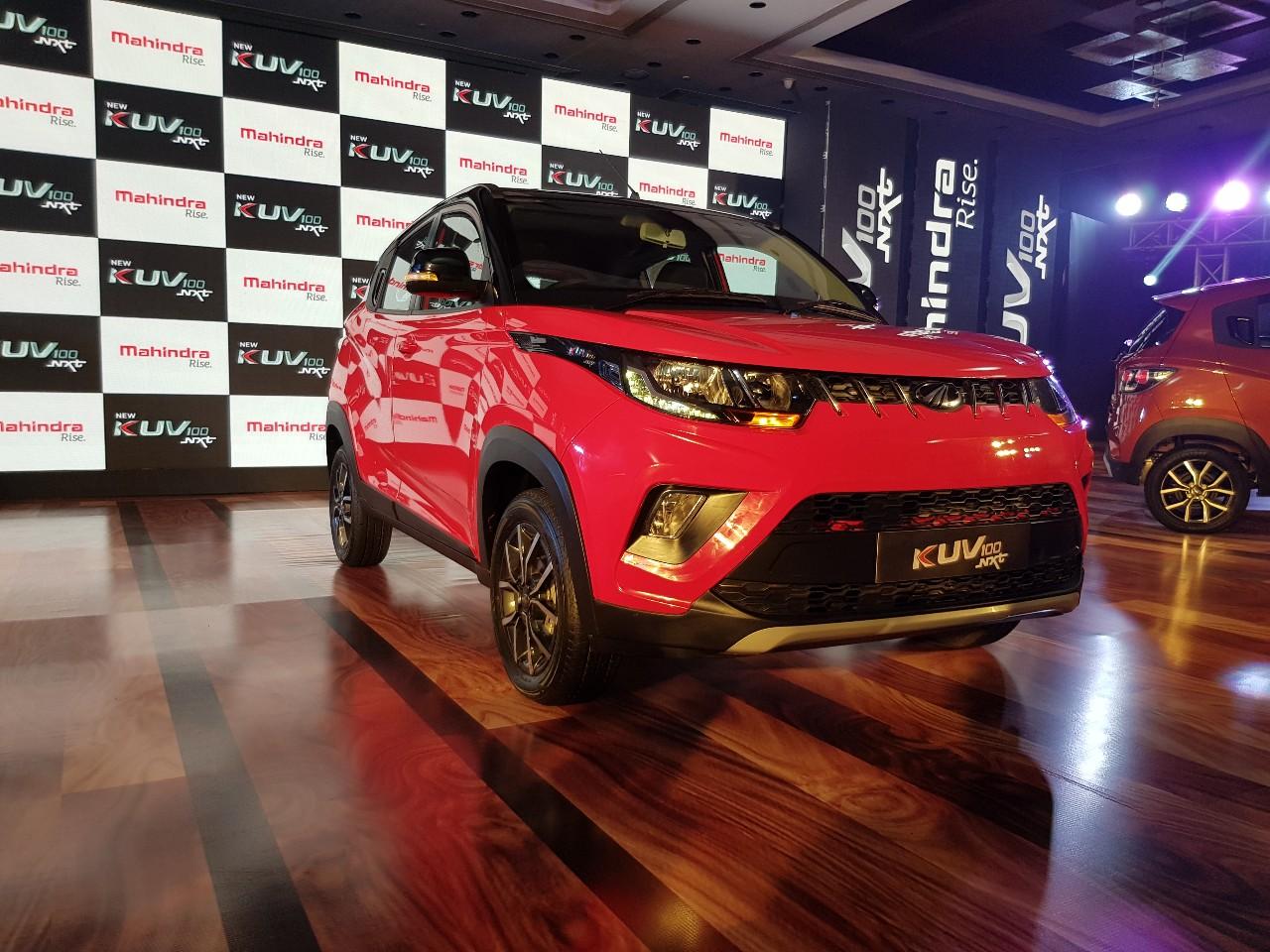 Mahindra KUV100 NXT – SUV siêu nhỏ, giá siêu rẻ 152,5 triệu đồng. KUV100 NXT là biến thể nâng cấp (facelift) của chiếc KUV100 từng được giới thiệu vào năm 2016, hiện mẫu xe này có giá bán khởi điểm siêu rẻ chỉ từ 152,5 triệu đồng. (CHI TIẾT)