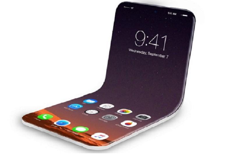 Điện thoại màn hình OLED có thể gập lại được trước đây chỉ là một sản phẩm của khoa học viễn tưởng. Ảnh: iDropnews.