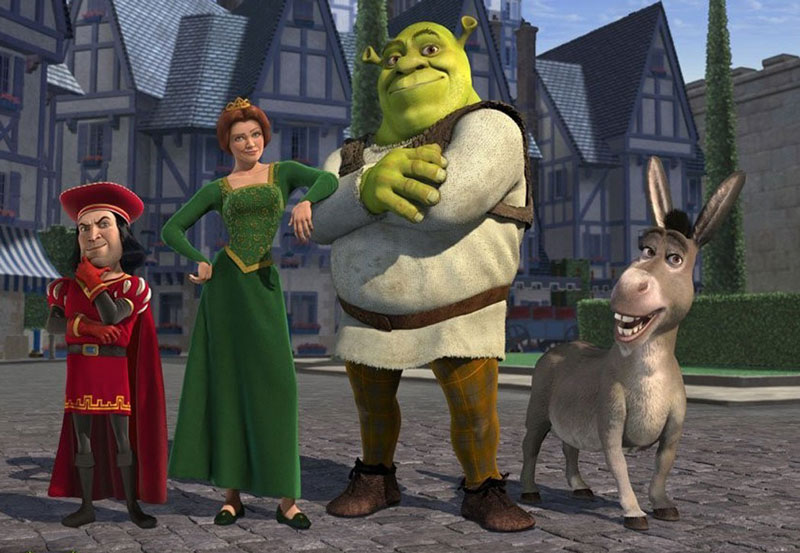 6. Shrek. Phim hoạt hình 3D do hãng DreamWorks Animation phát hành năm 2001, dựa trên một phần truyện tranh cổ tích tên Shrek! năm 1990 của William Steig. Phim do Andrew Adamson và Vicky Jenson chỉ đạo diễn xuất, phần đồ họa do DreamWorks Animation SKG xây dựng. Shrek là phim đầu tiên đoạt Giải Oscar cho phim hoạt hình hay nhất, hạng mục giải thưởng mới được đưa ra năm 2001. Bản DVD và VHS của phim được phát hành ngày 7/11/2001.