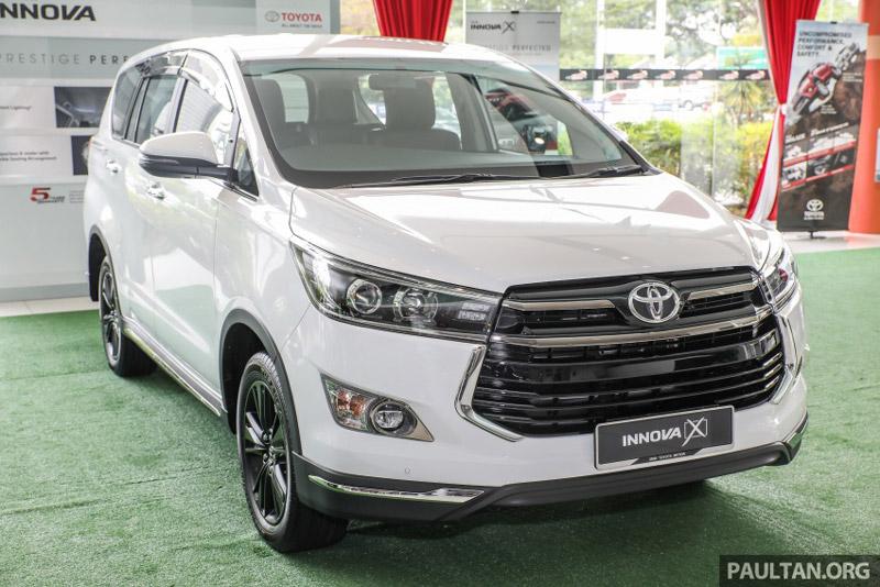 Giá bán của Toyota Innova 2.0X 2017 tại Malaysia là 132.800 Ringgit (tương đương 714,80 triệu đồng).