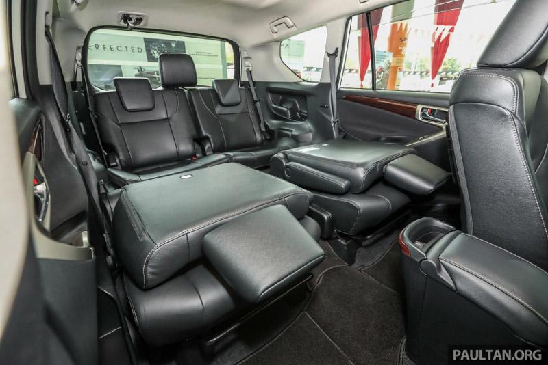 Toyota Innova 2.0X 2017 - 2