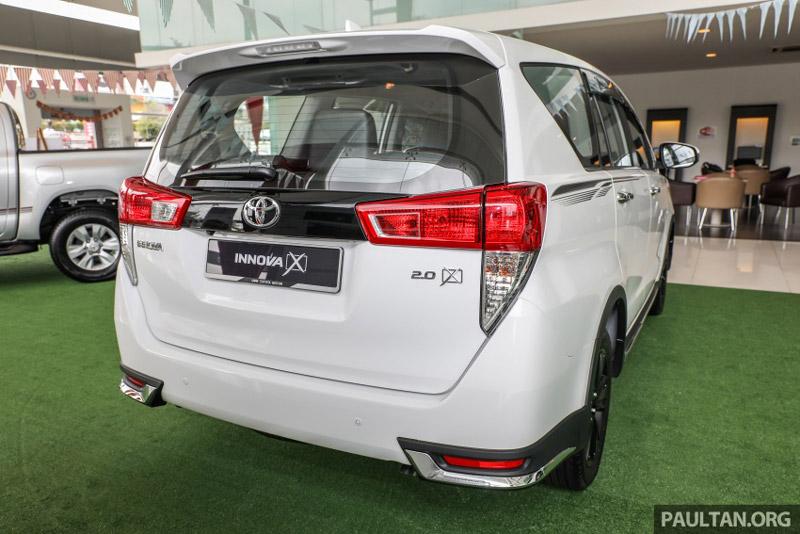 Toyota Innova 2.0X sử dụng hộp số tự động 7 cấp. Xe có 2 chế độ lái gồm Eco và Power drive.