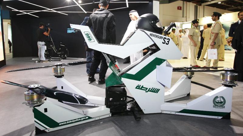 Xe bay của cảnh sát Dubai. Nguồn: expatmedia.net
