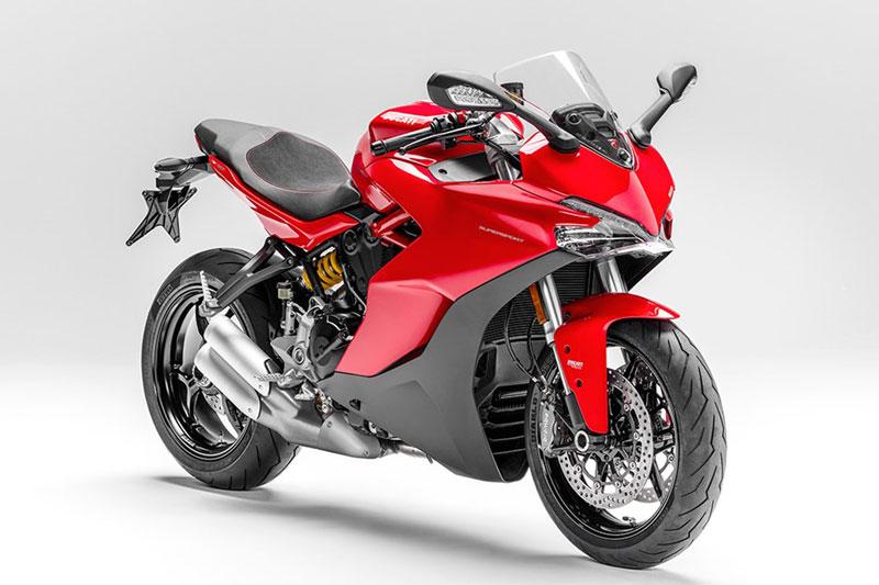 Cận cảnh Ducati SuperSport giá hơn 500 triệu tại Việt Nam. Ducati SuperSport 2017 vừa được giới thiệu tại thị trường Việt Nam với giá bán từ 513,9 triệu đồng. Dưới đây là những hình ảnh và thông số của mẫu môtô này. (CHI TIẾT)