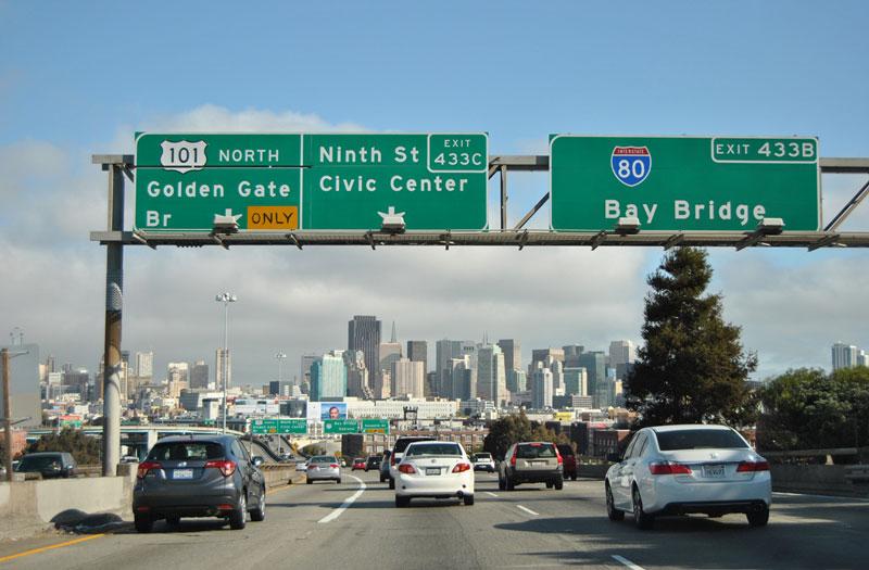 10. Xa lộ Liên tiểu bang 80 (Mỹ). Tổng chiều dài: 4.666 km.
