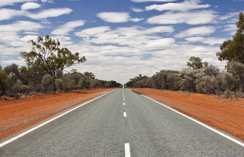 2. Quốc lộ 1 (Australia). Tổng chiều dài: 14.500 km.