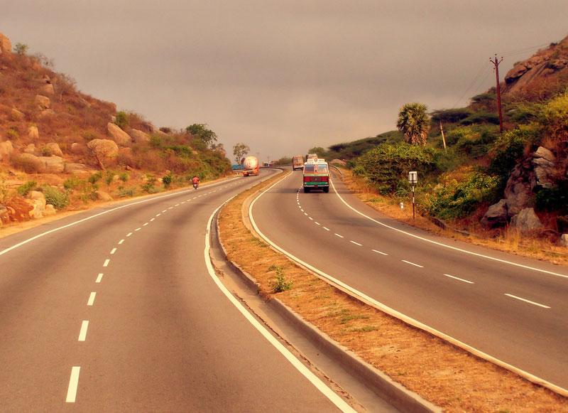5. Tuyến đường tam giác vàng (Ấn Độ). Tổng chiều dài: 5.846 km.