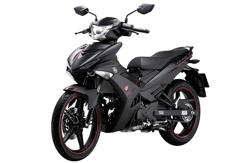 Yamaha Exciter 150 phiên bản màu đen nhám.