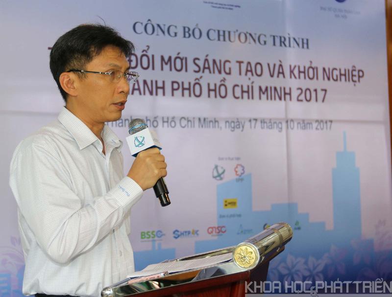 Ông Nguyễn Việt Dũng - Giám đốc Sở KH&CN TPHCM công bố