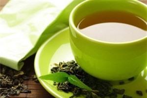 trà xanh dưỡng tóc