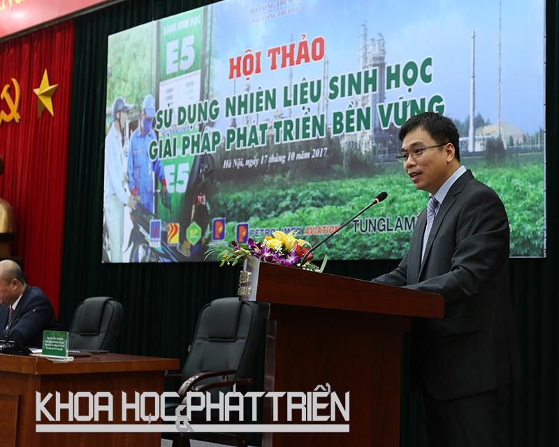 Ông Nguyễn Nam Hải - Phó Tổng cục trưởng Tổng cục Tiêu chuẩn - Đo lường - Chất lượng phát biểu tại hội thảo. Ảnh: Ngọc Vũ