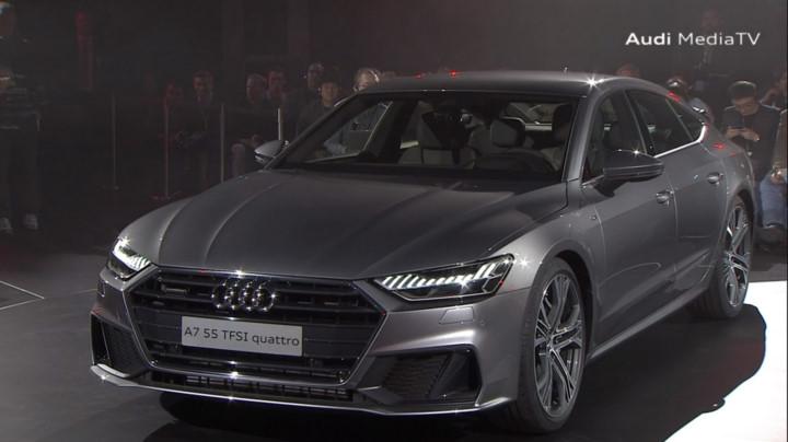 Hình ảnh chi tiết Audi A7 Sportback 2019 chính thức trình làng. VOV.VN - Ngày 20/10, hãng xe danh tiếng đến từ Đức, Audi chính thức trình làng mẫu xe Audi A7 Sportback với nhiều thay đổi đáng chú ý. (CHI TIẾT)
