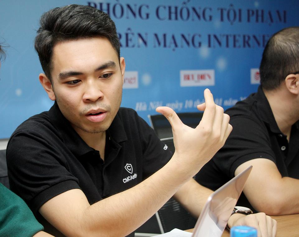 Ông Hà Thế Phương - Phó Tổng Giám đốc Công ty cổ phần an ninh, an toàn thông tin CMC INFOSEC