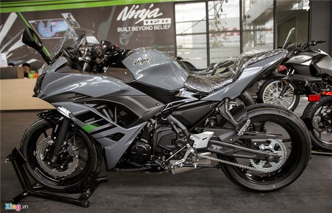 Loat moto Kawasaki phien ban 2018 ve Viet Nam hinh anh 2