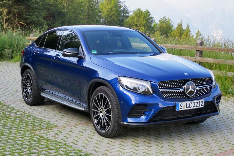2. Mercedes-Benz GLC.