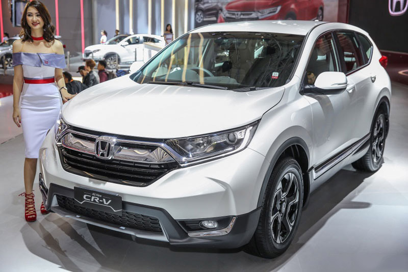 Honda CR-V 7 chỗ tại Indonesia.