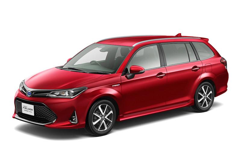 Xe gia đình Toyota Corolla Fielder giá 333 triệu đồng tại Nhật Bản. Đây là biến thể Corolla dạng wagon với khoang hành lý kéo dài, đặc biệt phù hợp cho những chuyến đi dã ngoại dài ngày. (CHI TIẾT)